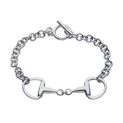 Christin Ranger Jewellery - Snaffle Bit Silver Bracelet