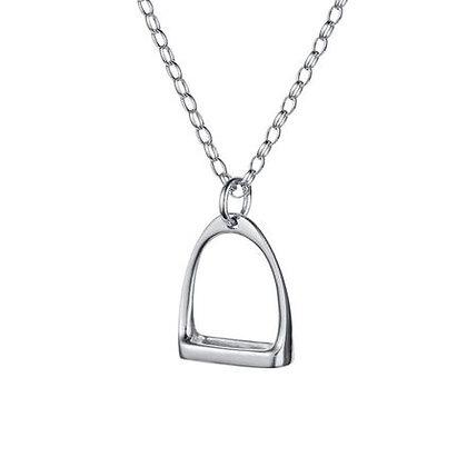 Christin Ranger Jewellery - Silver Stirrup Necklace