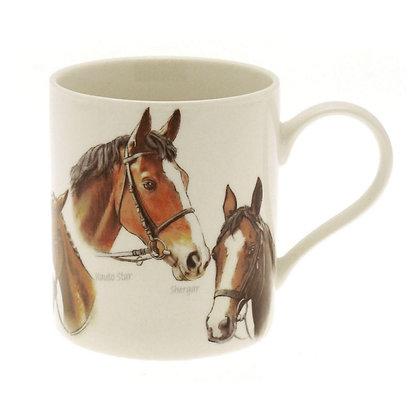 Lesser & Pavey Horse Fine China Mug
