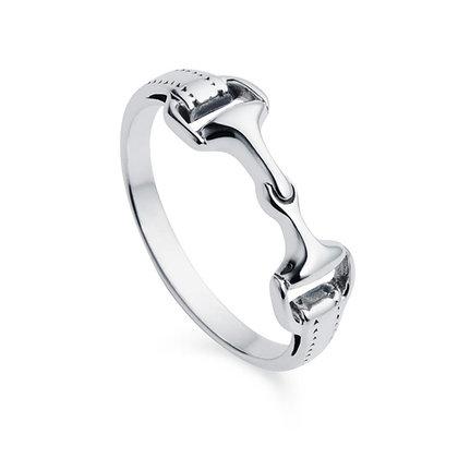 Christin Ranger Jewellery - Snaffle Bit Silver Ring