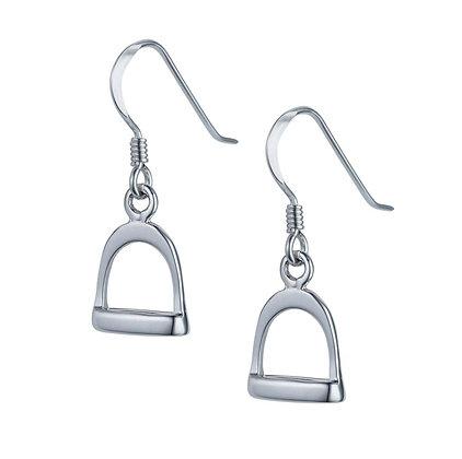 Christin Ranger Jewellery - Silver Stirrup Earrings