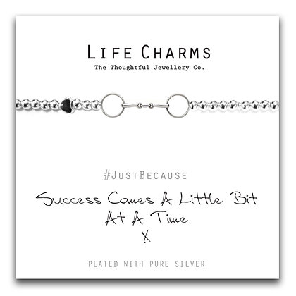 Life Charms Bracelet: Success Comes A Little Bit At A Time