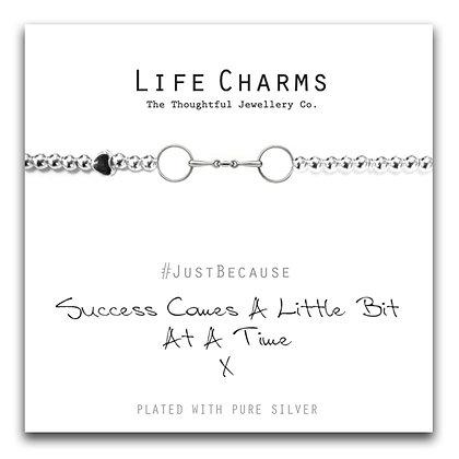 Life Charms Bracelet: Success Comes A Little Bit At A Time