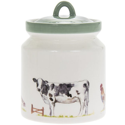 Country Life Farm Storage Ceramic Canister