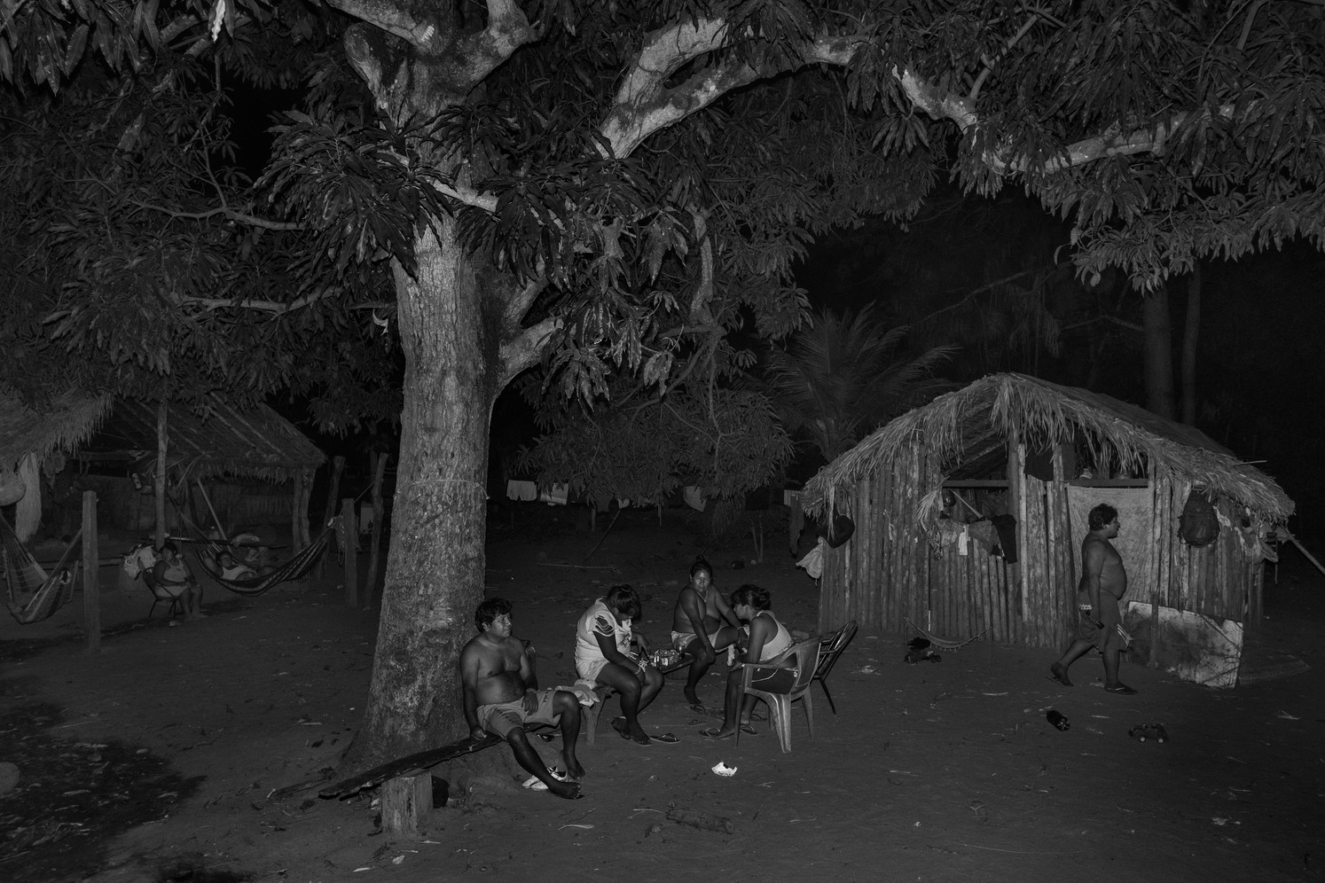 The Gaviao village inside the Governador indigenous land in the Maranhao state.