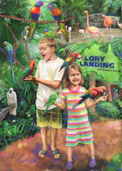 Brickman zoo Card