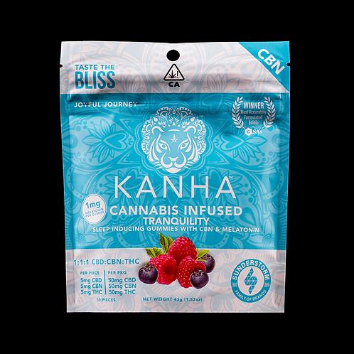 Kanha Treats | Tranquility 1:1:1 Blue Raspberry Gummies