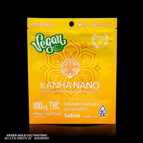 Kanha Nano | Vegan Luscious Lemon Gummies