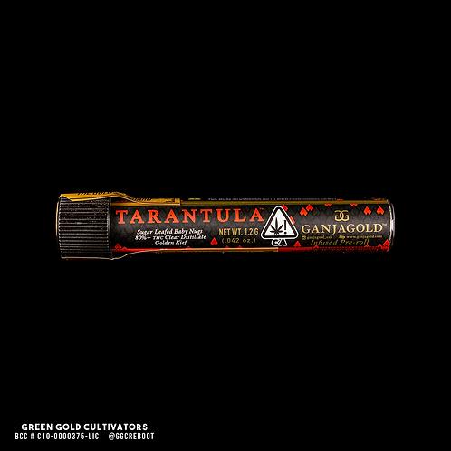 Ganja Gold   Red Preroll Tarantula