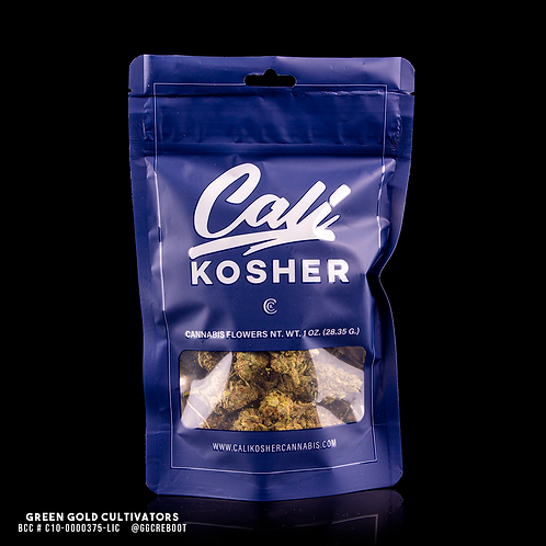 Cali Kosher | Animal Face X Sherb Crasher (1OZ)