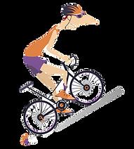 tired-cyclist-rides-a-bike-vector-216248