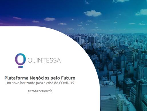 Quintessa lança movimento para ajudar negócios de impacto em soluções para a crise