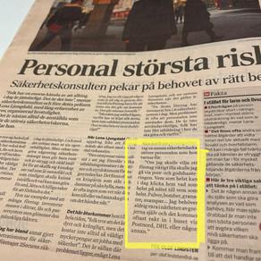 """En """"blänkare"""" från Dagens Industri"""