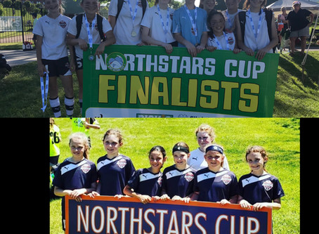 U11 White and U12 Red Girls Finish as Finalists at the Syracuse Northstars Tournament