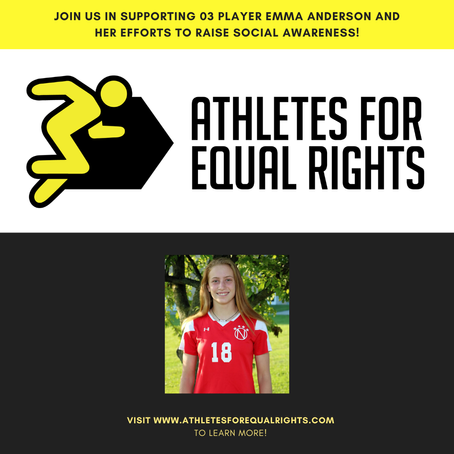 Athletes For Equal Rights: An initiative by our very own