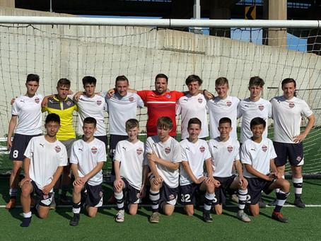U16 Leicester Boys Win The League
