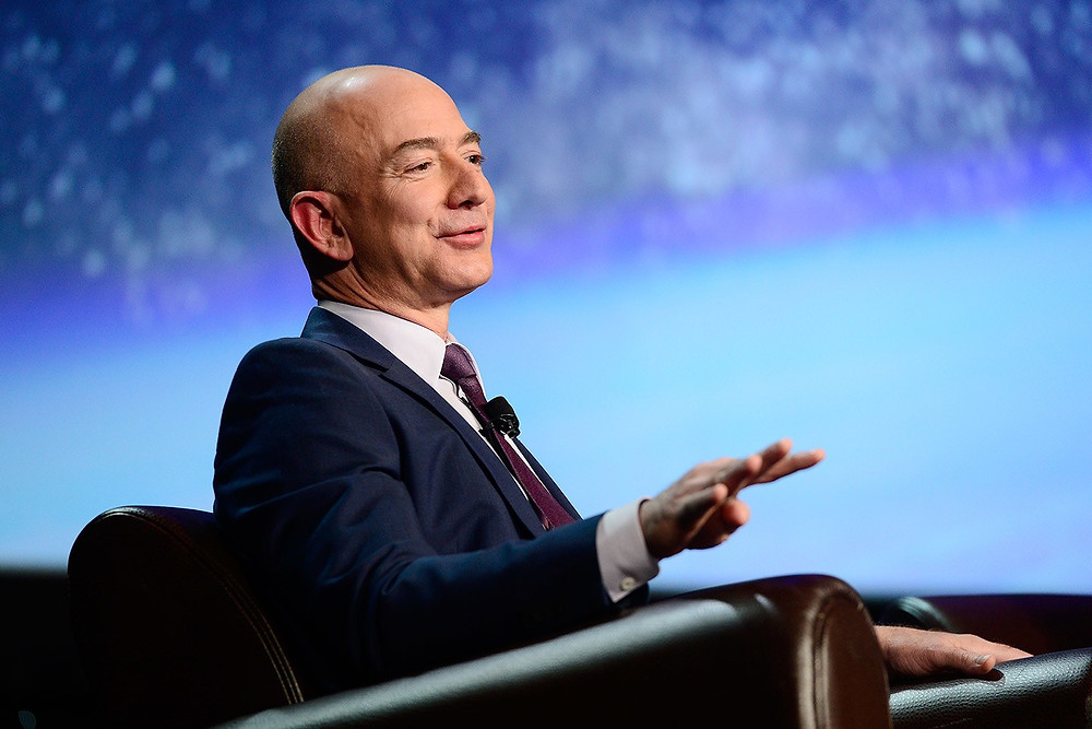 Jeff Bezos Founder of Amazon & Blue Origin