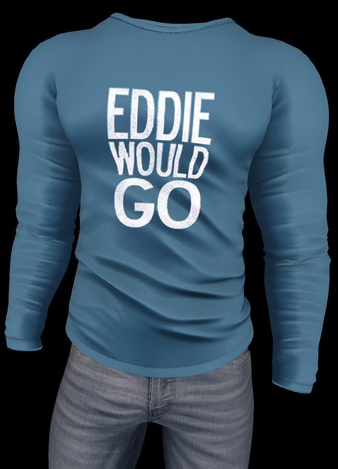 eddie would go ps