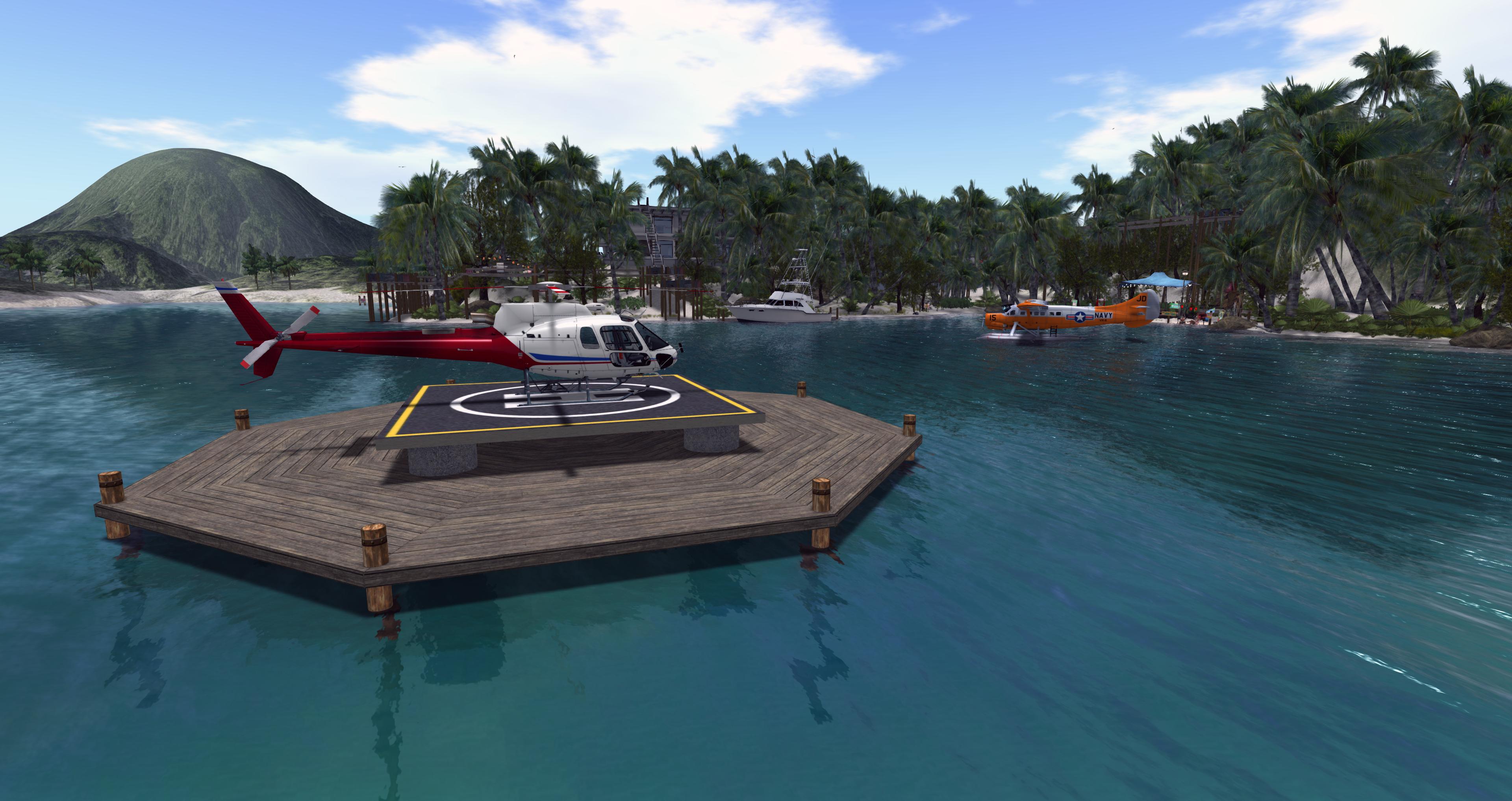 helipad dock