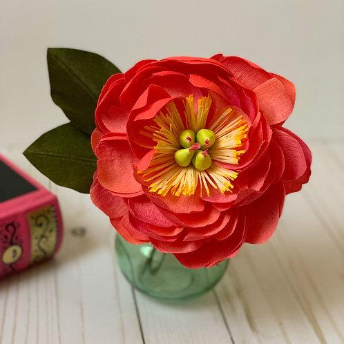 Charm Peony vase