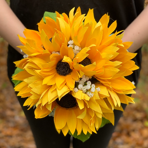 SALE! ready to ship sunflower bouquet