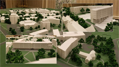 North Campus of Cornell University. Ithaca,NY.  Ikon 5 Architects