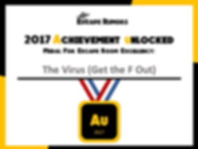 2017 Escape Rumors Au Medal The Virus.JP