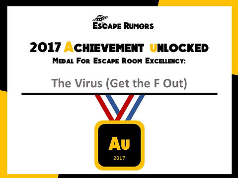 2017 Escape Rumors Au Medal The Virus.JP