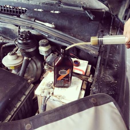 Chevrolet NIVA: очередное ТО + профилактика добавкой RUTEC.