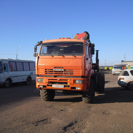 Обработка двигателя КАМАЗ 65221.