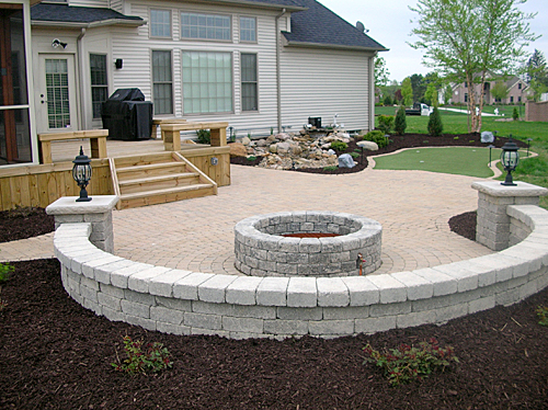 Paver Seating