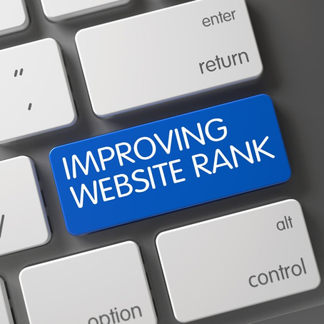 Improving your websites rank isn't just a simple push of a button