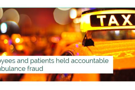 Employees and patients held accountable for ambulance fraud