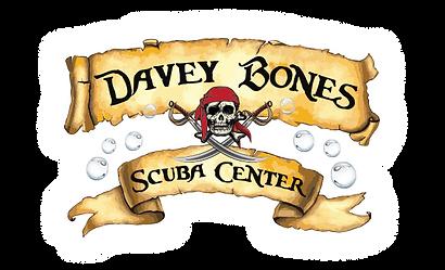 Davey Bones Scuba Center Logo