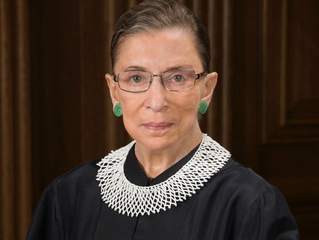 A Tribute To Ruth Bader Ginsberg