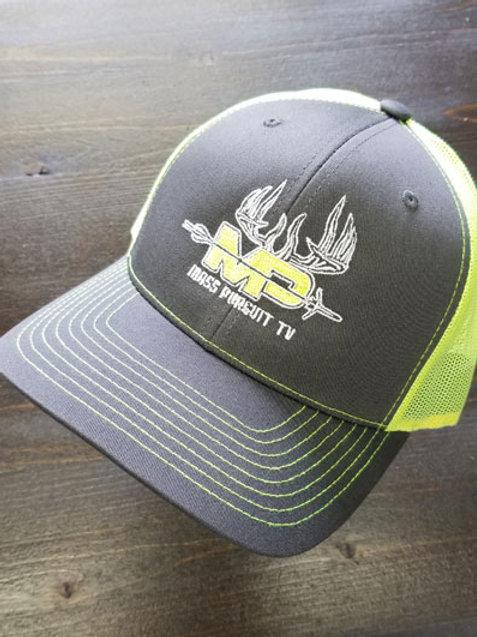 Graphite Mesh Hat