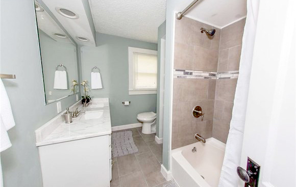 Bright White Bathroom
