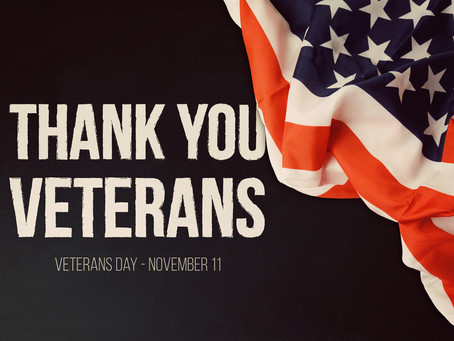 Thank You Veterans: Our Debt To You Is Immeasurable