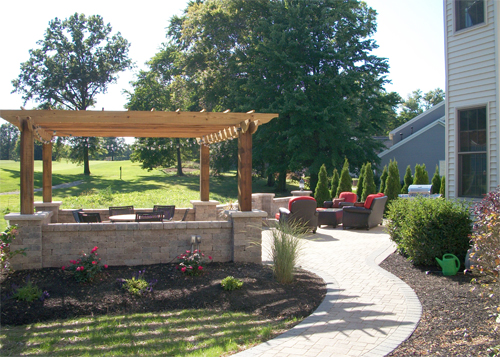 Pergola and Seating
