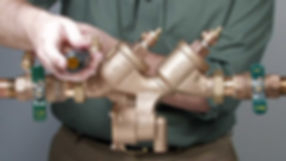 backflow valve replacement