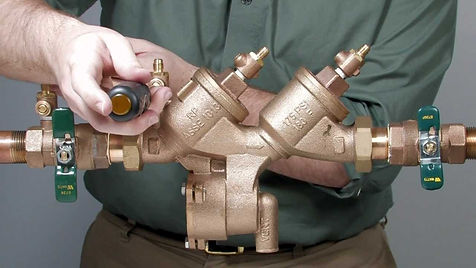 backflow pipe - pickerington