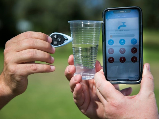 A new technology to drink safely