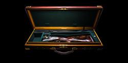 Oxblood Leather Case Interior