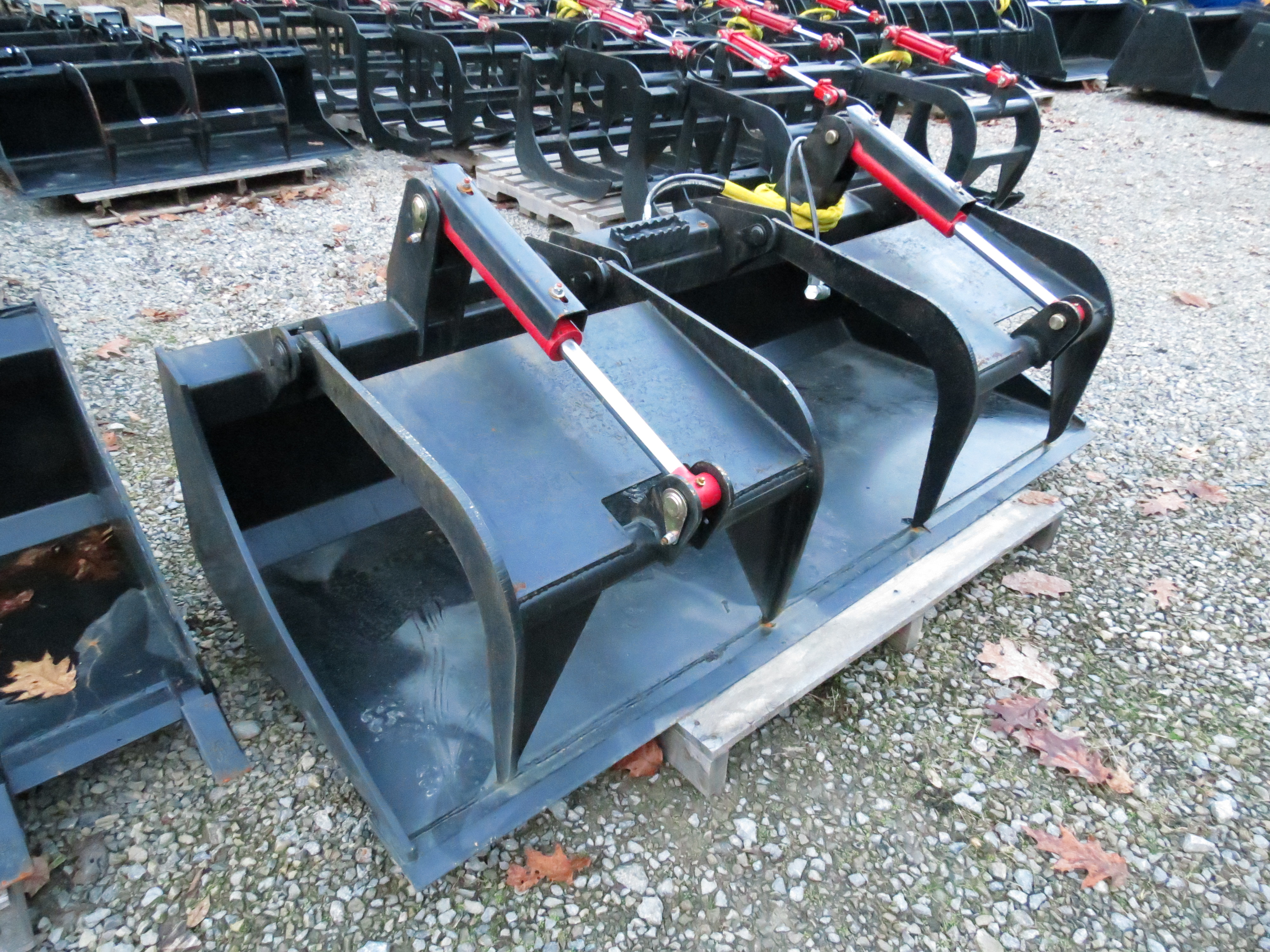 Extreme Duty Grapple Bucket