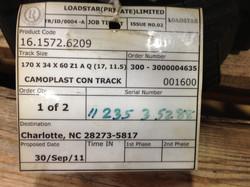 170x60x34 RUBBER TRACKS-HONDA,EURODIG,CANYCOM,YANMAR, YAMAGUCHI,SATO  (5