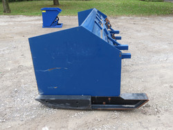 Payloader Snow Pusher