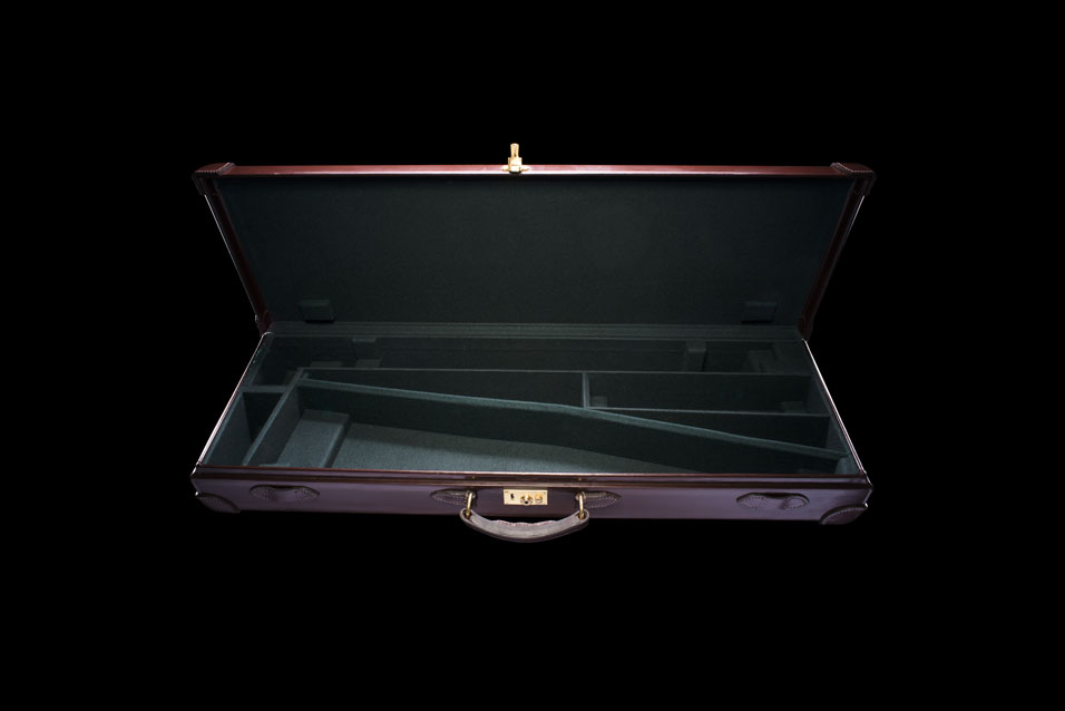 Brown Leather Single Gun Case