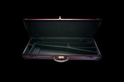 Brown Leather Single Gun Case