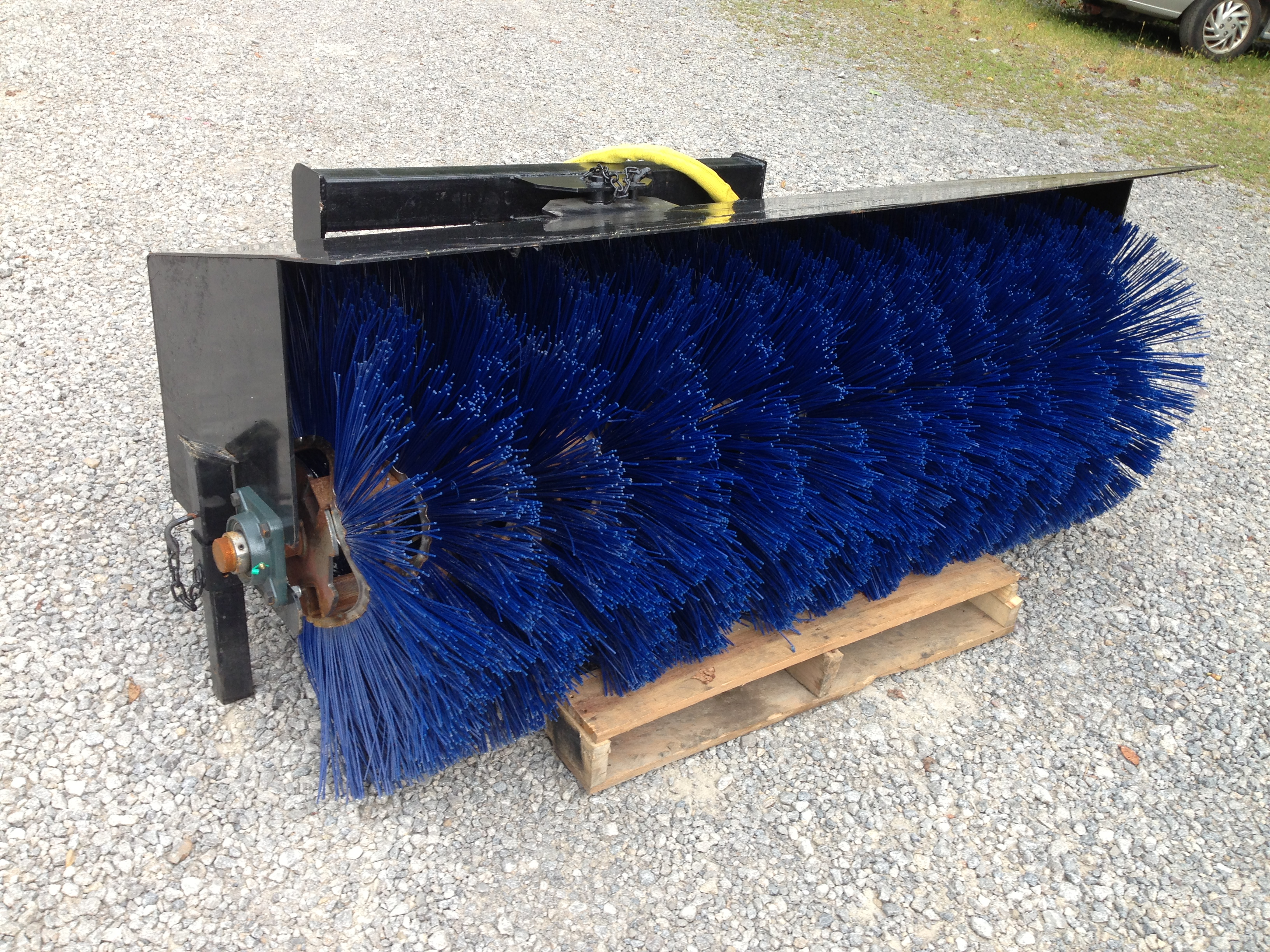 Skid Steer Broom Attachment