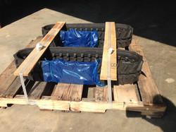 170x60x34 RUBBER TRACKS-HONDA,EURODIG,CANYCOM,YANMAR, YAMAGUCHI,SATO  (3